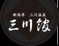 新潟県 三川温泉 三川館